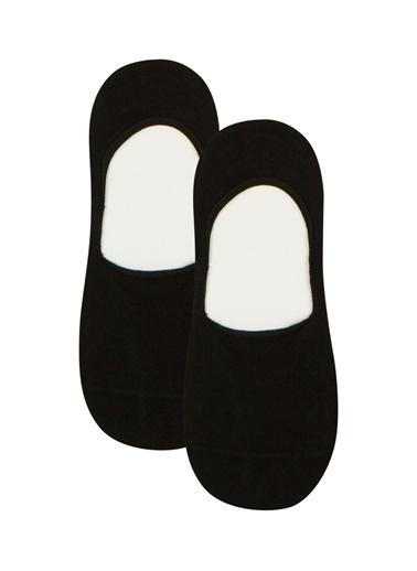 Penti Lacı Beyaz Erkek Çocuk Helios Görünmez Çorap 2Li Paket Siyah